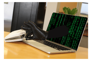 Antivirus protecting you against cyber crime